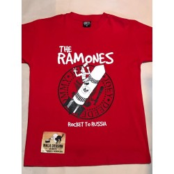 Ramones Remera Rocket To Rusia