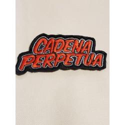 Cadena Perpetua Parche Bordado