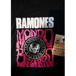 Ramones Remera Mondo Bizarro