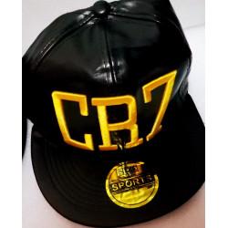 CR7 GORRA DE CUERO BORDADA...