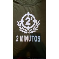 2 MINUTOS REMERA VERDE MILITAR