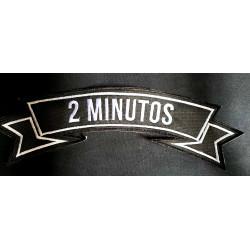2 MINUTOS PARCHE BORDADO...